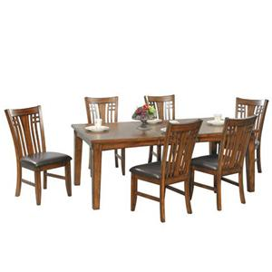 Winners Only Zahara 7 Piece Dining Table and Chair Set