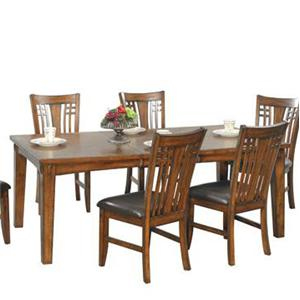 "Winners Only Zahara 78"" Leg Table"