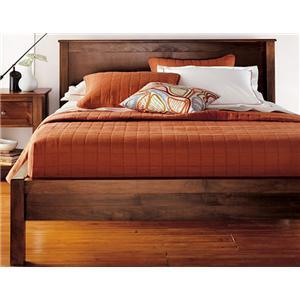 Witmer Furniture Taylor J Queen Size 2 Panel Platform Bed