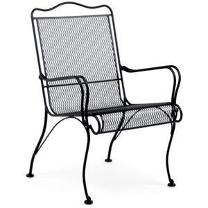 Woodard Tucson High-Back Lounge Chair