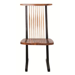 Morris Home Furnishings Nicholas Naka Chair Nicholas Side Chair