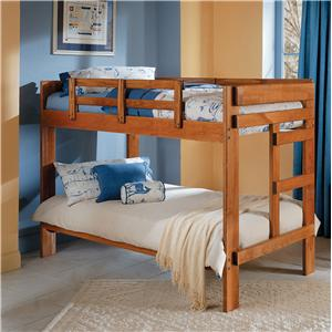 Woodcrest Heartland BR 2 x 6 Bunk Bed