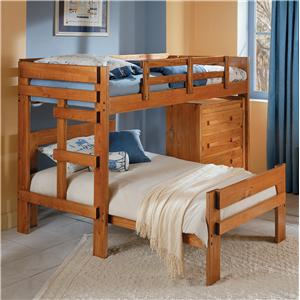 Woodcrest Heartland BR L-Shaped Bunk Bed