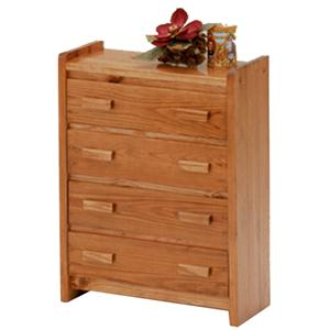 Woodcrest Heartland BR 4 Drawer Chest