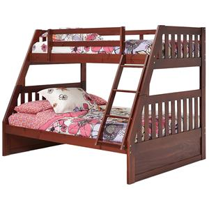 Woodcrest Pine Ridge Twin Over Full Bunk Bed