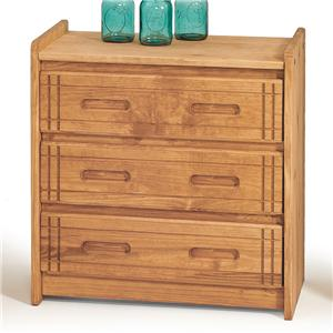 Woodcrest Woody Creek 3-Drawer Chest