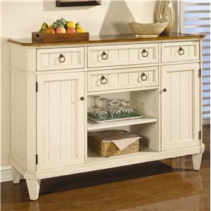 Flexsteel Wynwood Collection Garden Walk Sideboard
