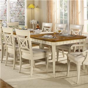 Flexsteel Wynwood Collection Garden Walk Dining Table