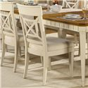 Flexsteel Wynwood Collection Garden Walk Dining Side Chair - Item Number: 6634-40