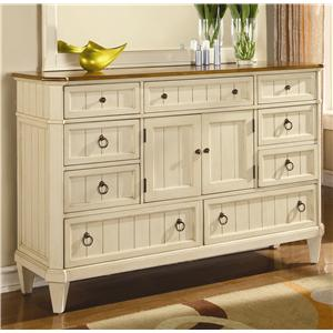 Flexsteel Wynwood Collection Garden Walk Dresser