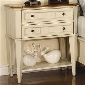 Flexsteel Wynwood Collection Garden Walk Nightstand