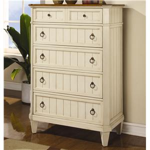 Flexsteel Wynwood Collection Garden Walk Chest of Drawers