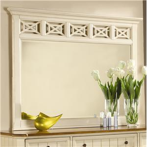 Flexsteel Wynwood Collection Garden Walk Mirror