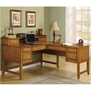 Flexsteel Wynwood Collection Gordon L Desk