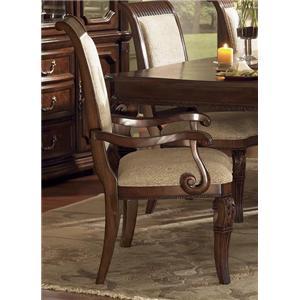 Flexsteel Wynwood Collection Granada  Dining Arm Chair