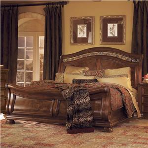 Flexsteel Wynwood Collection Granada  Queen Sleigh Bed