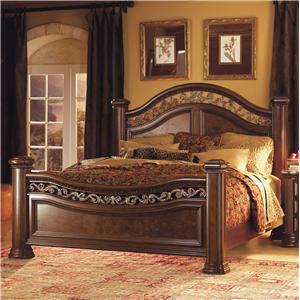 Flexsteel Wynwood Collection Granada  Queen Mansion Bed