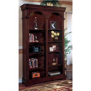 Flexsteel Wynwood Collection Rue De Lyon Double Bookcase