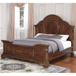 Flexsteel Wynwood Collection Talavera King Panel Bed