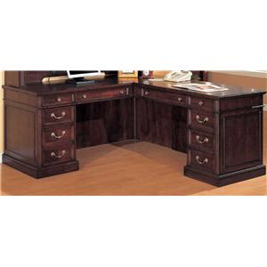 Flexsteel Wynwood Collection Wellington LHF Desk and RHF Return