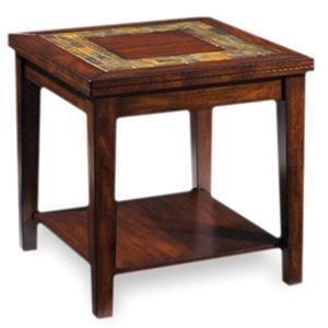 Steve Silver Davenport  Slate End Table