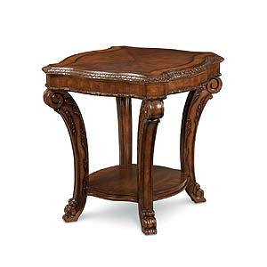 A.R.T. Furniture Inc Old World Rectangular End Table