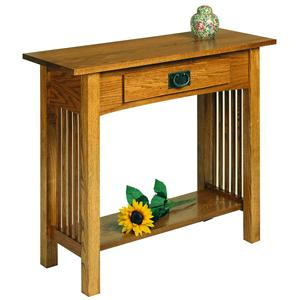 AA Laun Workbench Classics Sofa Table Console with Drawer
