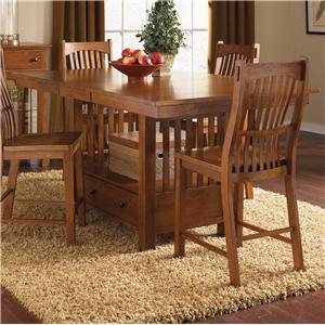 "AAmerica Laurelhurst 42"" x 56"" Rectangular Gathering Table"