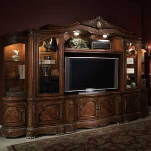 Michael Amini Cortina Entertainment Wall