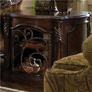 Michael Amini Essex Manor Barrel End Table