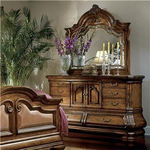 Michael Amini Tuscano Dresser w/ Mirror