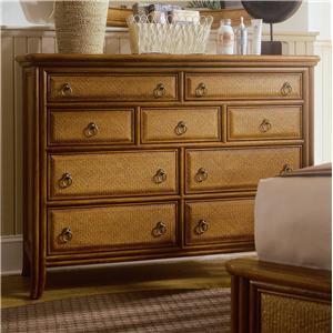 American Drew Antigua Tall Drawer Dresser