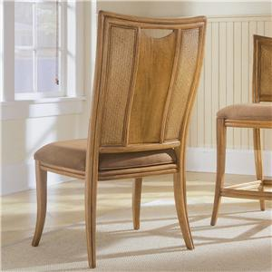 American Drew Antigua Splat Back Side Chair