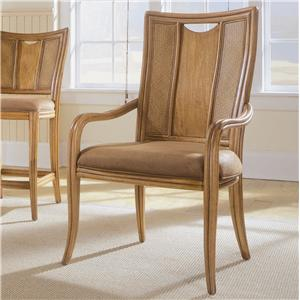 American Drew Antigua Splat Back Arm Chair