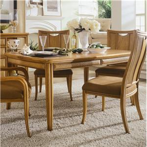 American Drew Antigua Leg Table