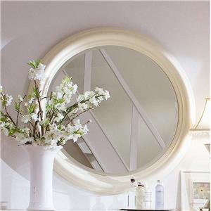 American Drew Camden - Light Round Mirror
