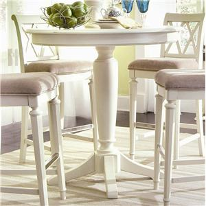 American Drew Camden - Light Bar Height Pedestal Table
