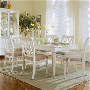 American Drew Camden - Light 7-Piece Formal Dining Set