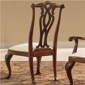 American Drew Cherry Grove 45th Pierced Back Side Chair