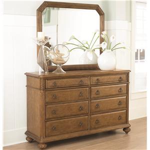 American Drew Grand Isle Dresser & Mirror