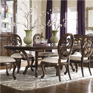 American Drew Jessica McClintock Couture Renaissance Dining Table