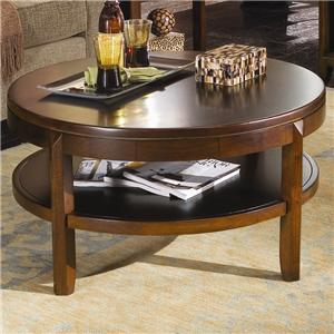 American Drew Tribecca Round Cocktail Table