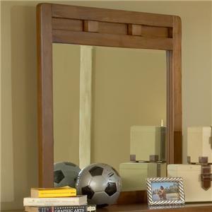 American Woodcrafters Heartland  Vertical Mirror