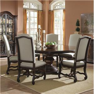 A.R.T. Furniture Inc Coronado Dining Table and Upholstered Chairs