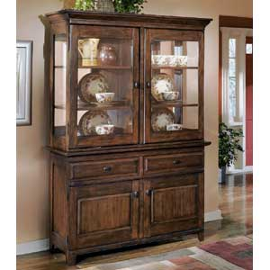 Signature Design by Ashley Furniture Larchmont China Cabinet and Buffet