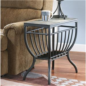 Signature Design by Ashley Furniture Antigo Chairside End Table