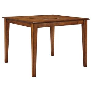 Signature Design by Ashley Furniture Berringer Square Dining Room Counter Table