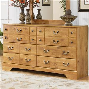 Signature Design by Ashley Bittersweet 6 Drawer Dresser