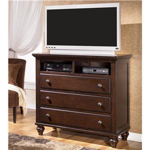 Signature Design by Ashley Furniture Camdyn 3 Drawer Media Chest