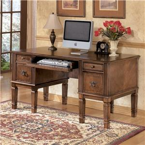 Signature Design by Ashley Hamlyn Storage Leg Desk